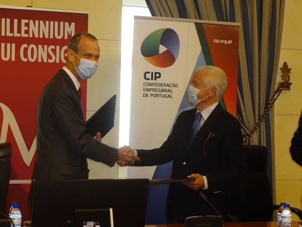 CIP celebra acordo de parceria com Banco Millenniumbcp